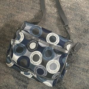 COPY - Coach diaper bag